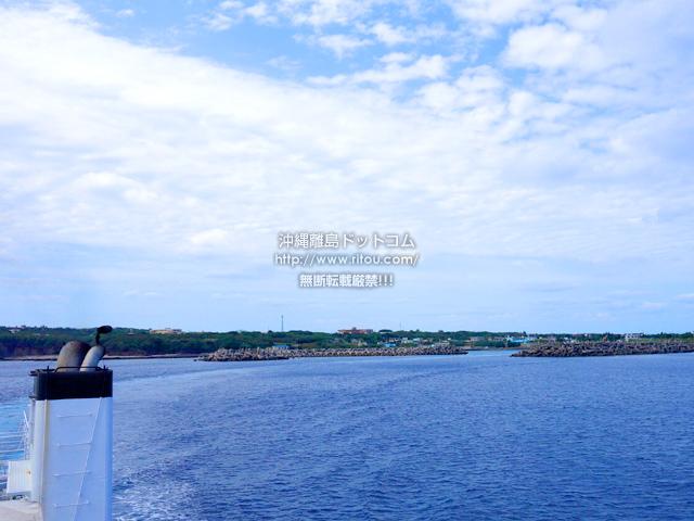 粟国島の粟国港/ナビィの恋の港