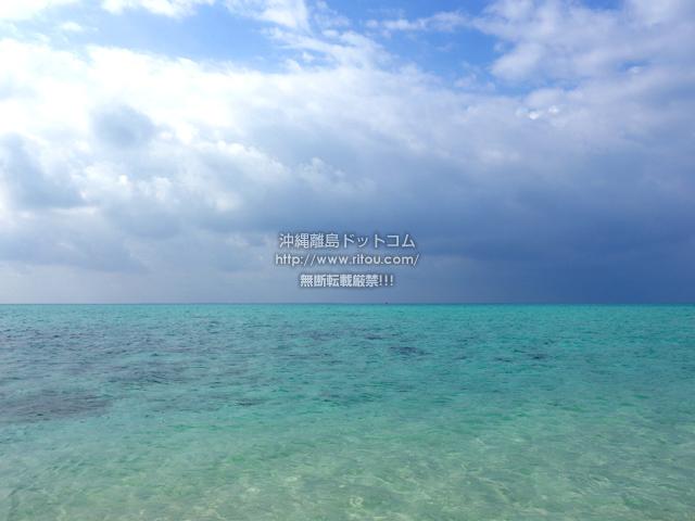浜島の浜島の南の海:大潮