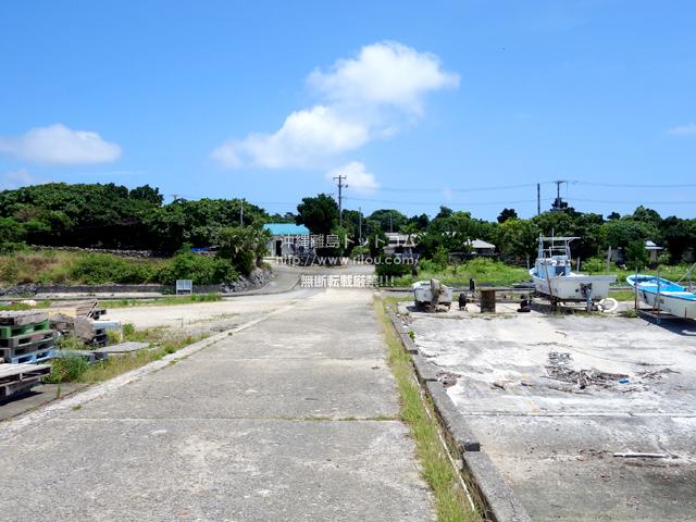 鳩間島の鳩間港