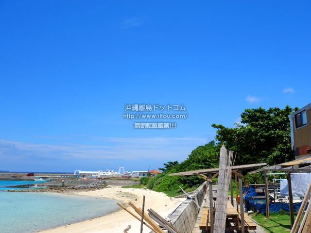 鳩間島のシーサイドマイトウゼ
