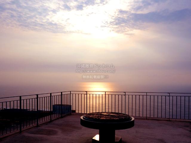 喜界島の百之台展望台