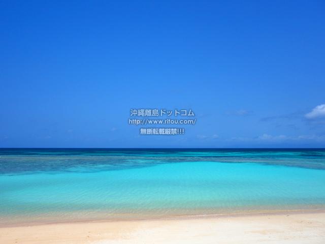 波照間島のニシ浜/北浜