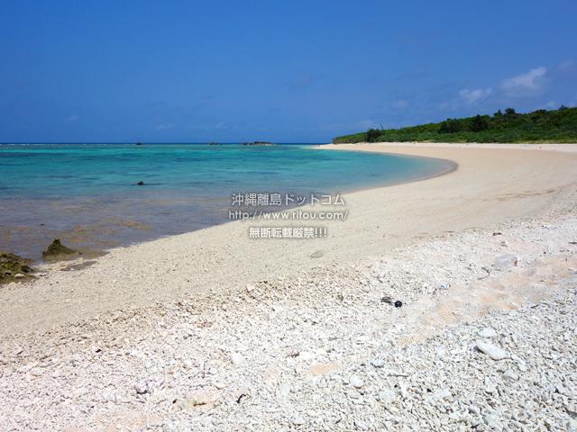 波照間島のペー浜/南浜