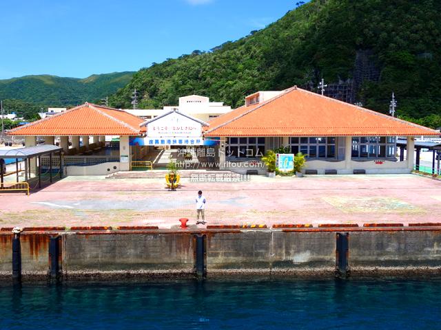 渡嘉敷島の渡嘉敷港