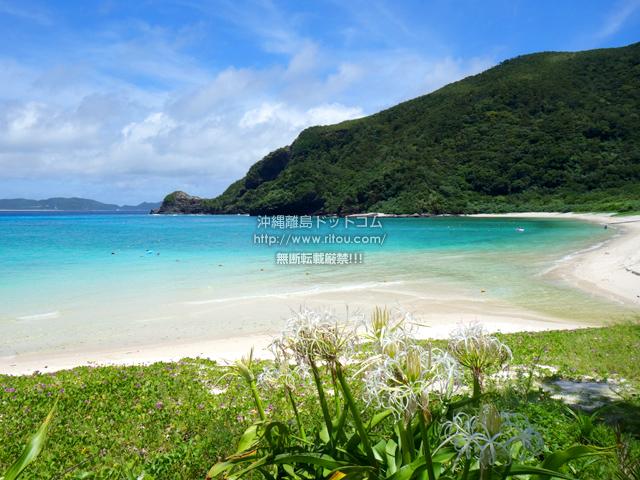 渡嘉敷島のトカシクビーチ