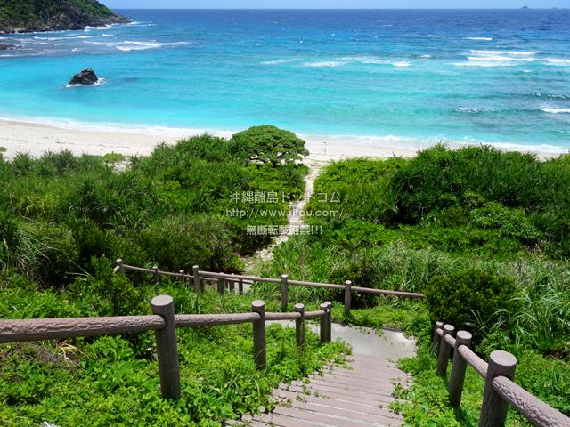 渡嘉敷島の中頭の海
