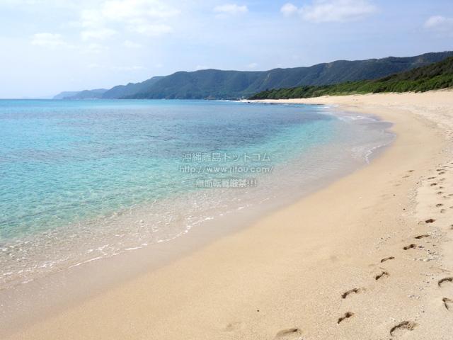 奄美大島のビラビーチ/ハート岩への入口