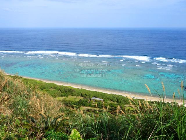 奄美大島の望楼台先の海
