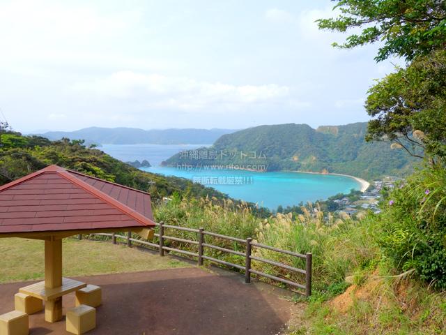 奄美大島のハートが見える展望台