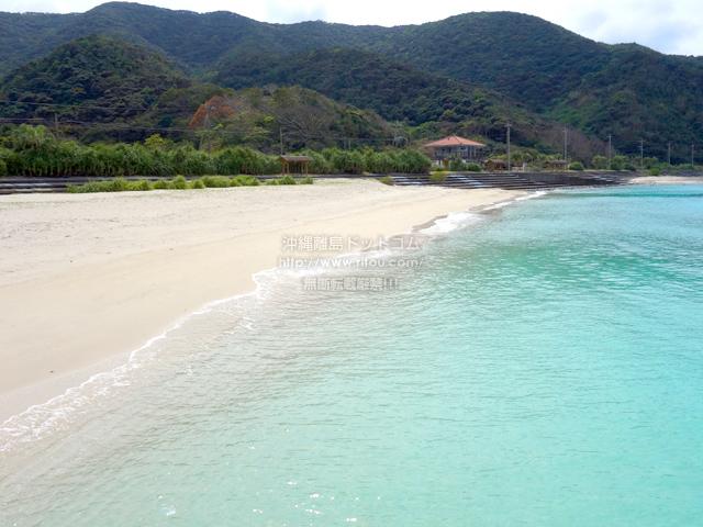 奄美大島のタエン浜海水浴場