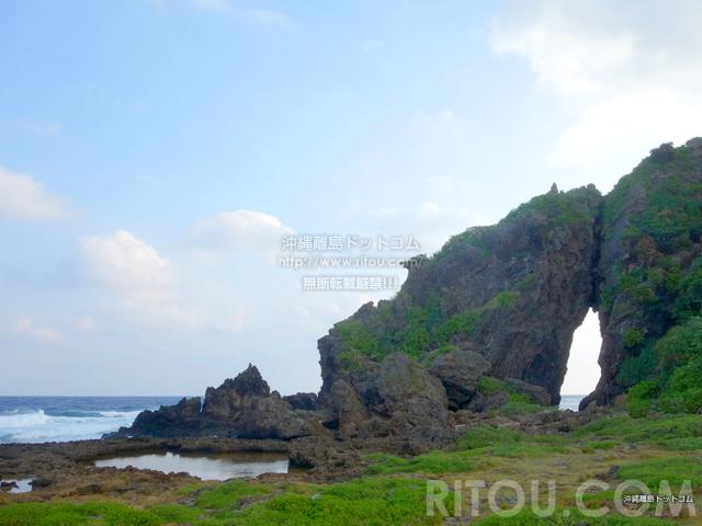 久米島のミーフガー/女岩