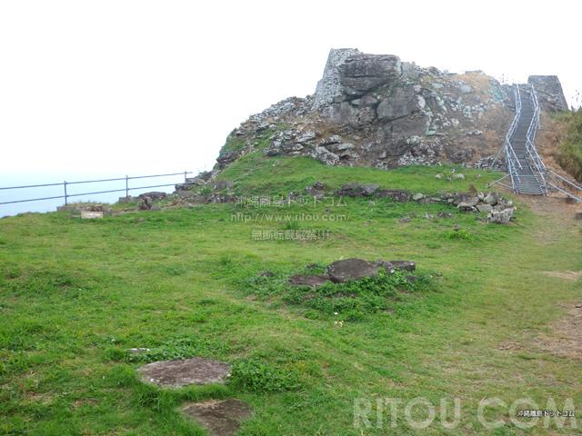 久米島の宇江城城跡