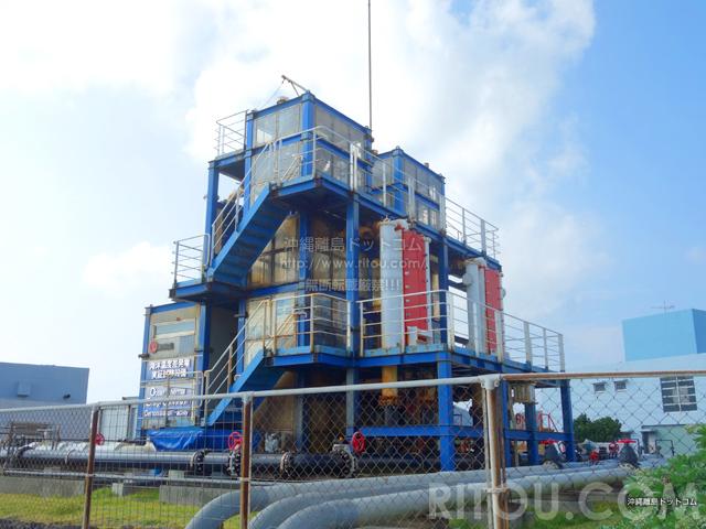 久米島の海洋深層水研究所/ふれあい館/海洋温度差発電プラント