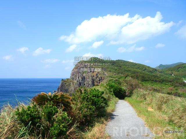 久米島のトゥクジム/トクジム自然公園/鳥の口遊歩道/島尻崎
