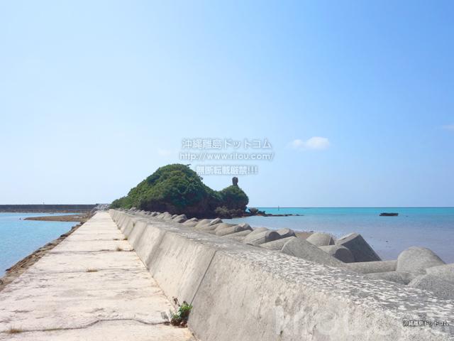 久米島のガラサー山/男岩