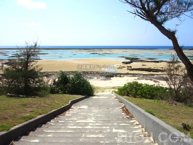 久米島のシンリ浜