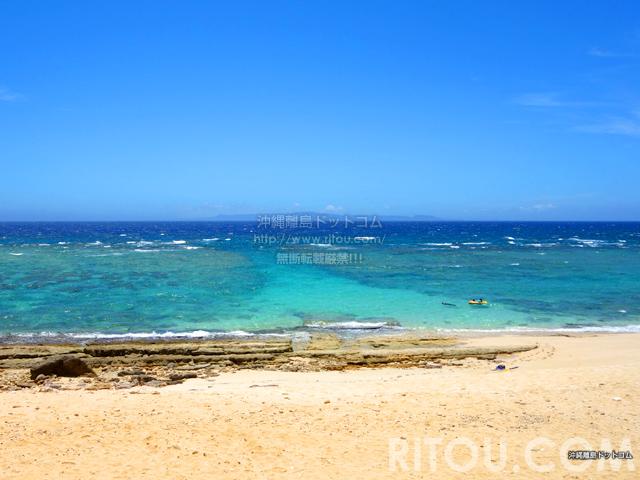 与論島の前浜