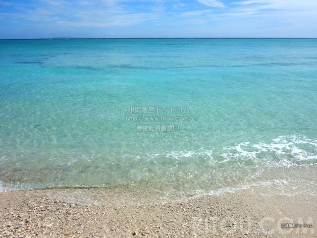 与論島の黒花海岸