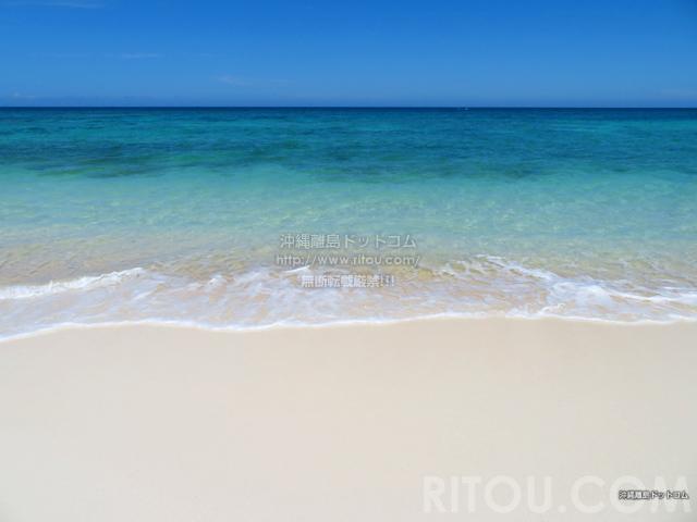 与論島のメーラビビーチ