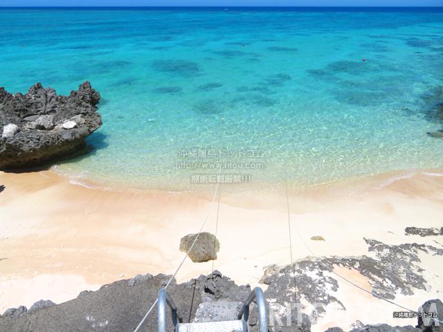 与論島のアイギビーチ/B&Gの浜