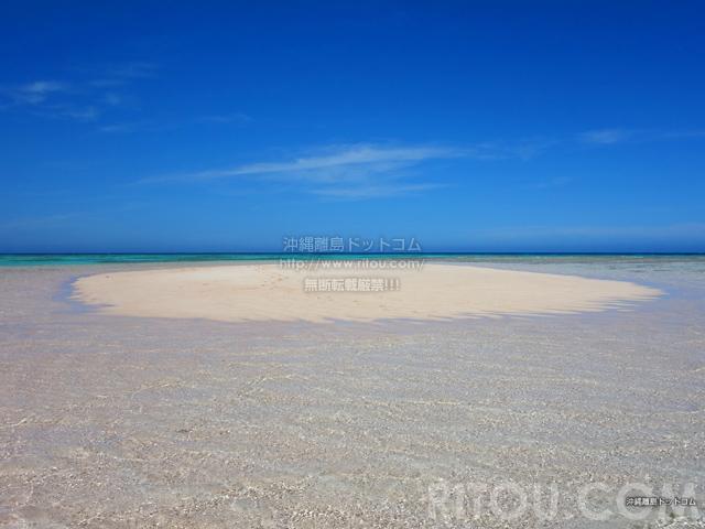 与論島の百合ヶ浜