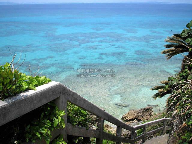 海と一体に慣れる場所(久高島の壁紙/写真)