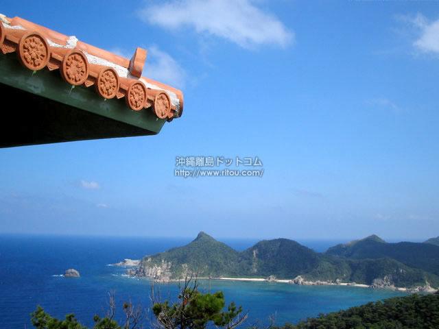 展望台からの景色(座間味島の壁紙/写真)