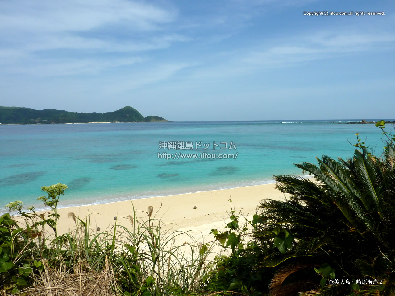奄美大島〜崎原海岸2