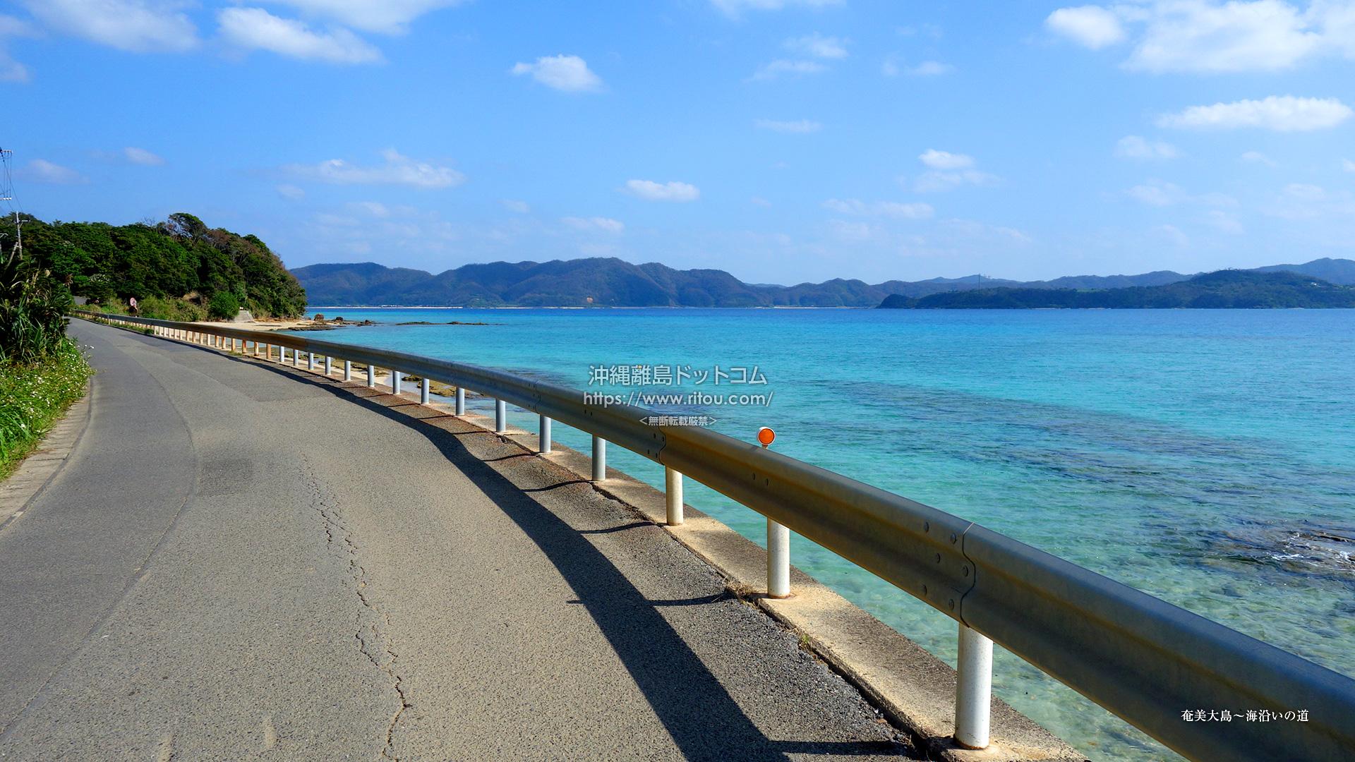 奄美大島〜海沿いの道