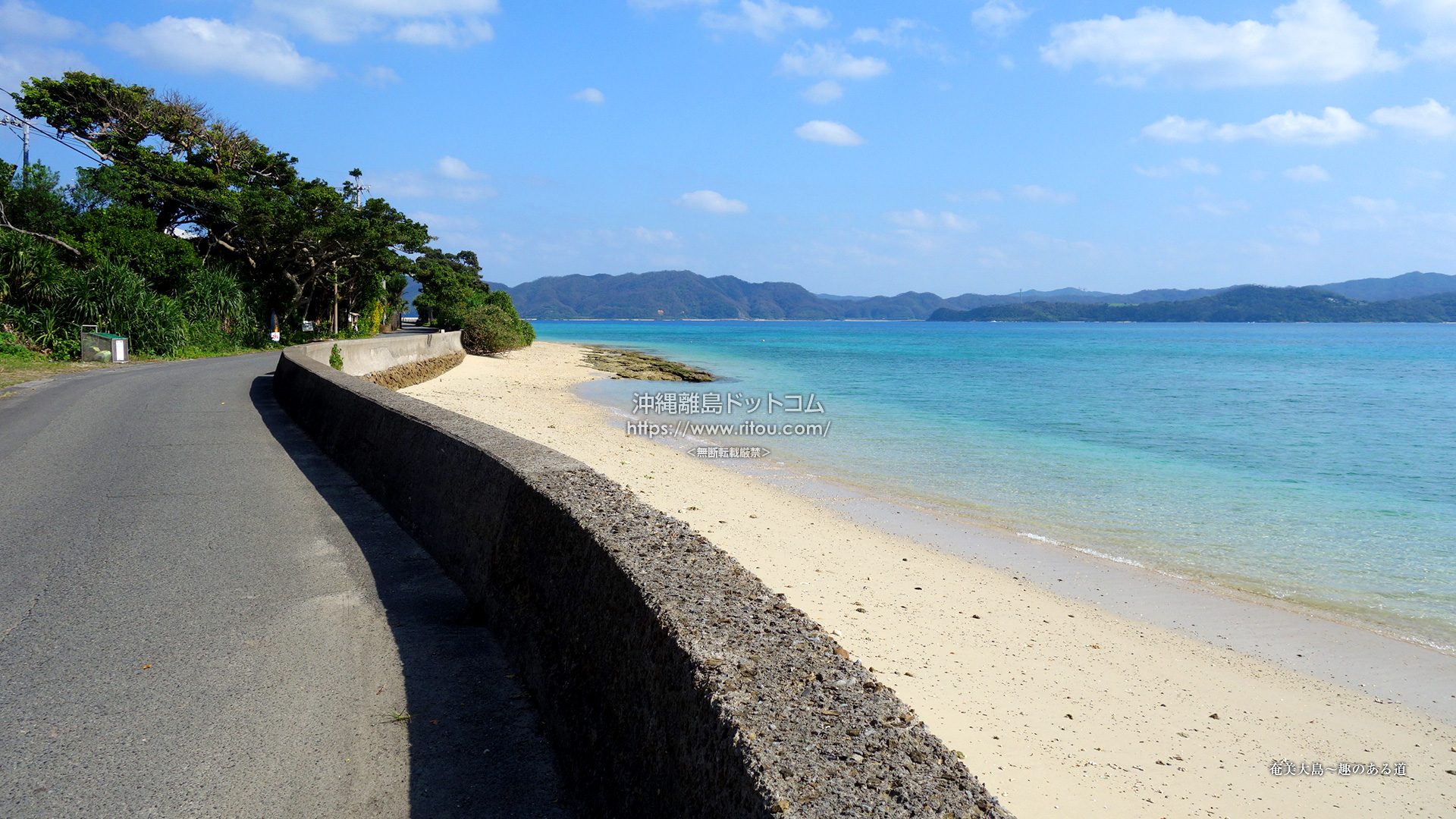 奄美大島〜趣のある道