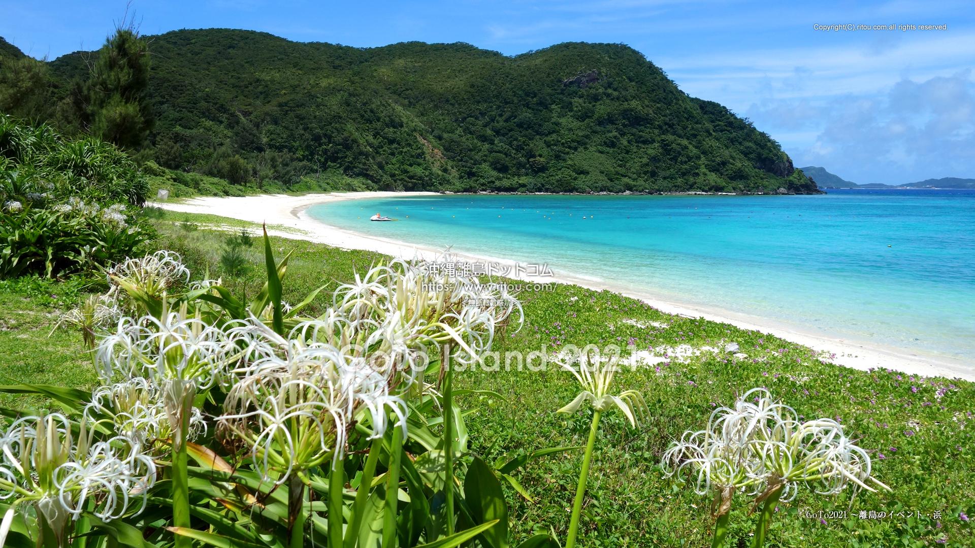 GoTo2021〜離島のイベント・浜