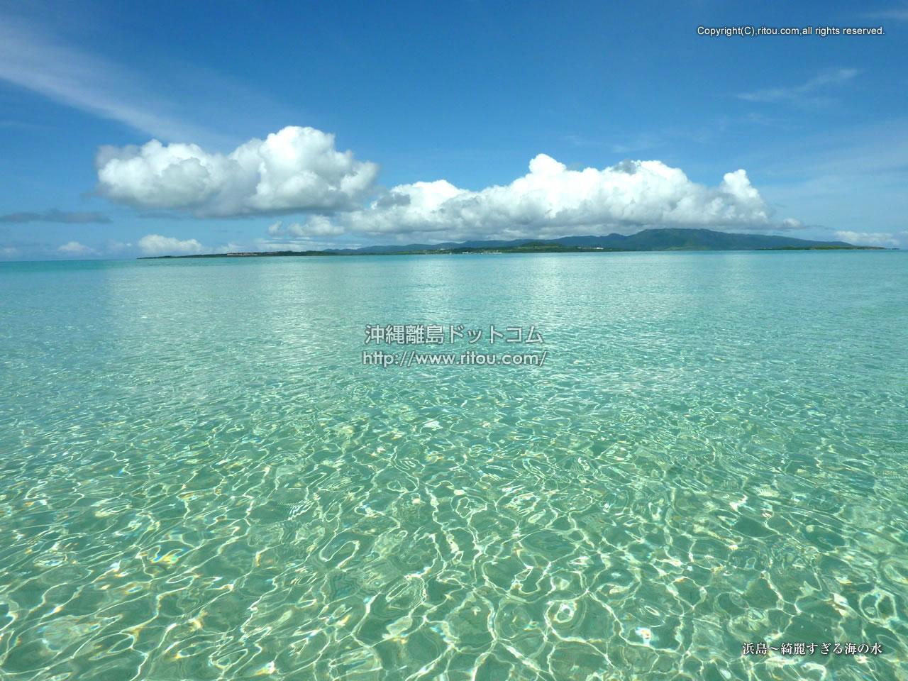 浜島〜綺麗すぎる海の水