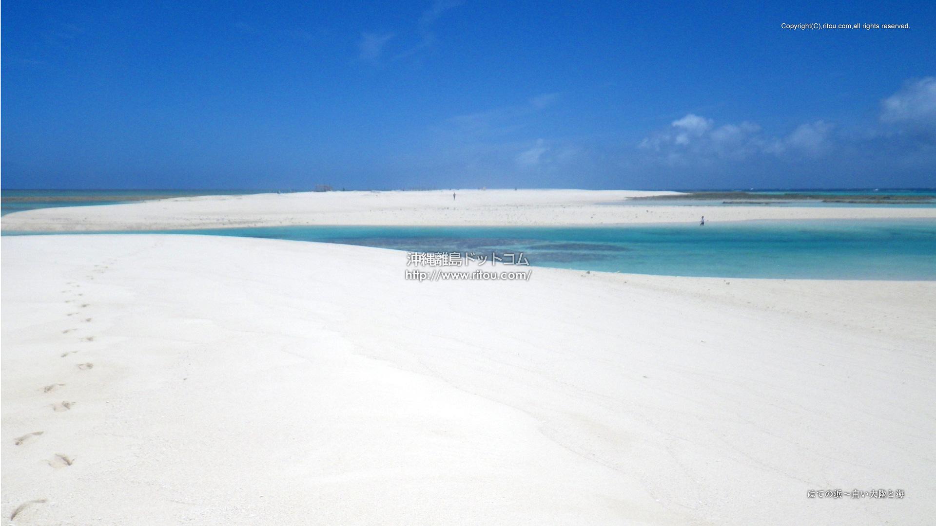 はての浜〜白い大陸と海