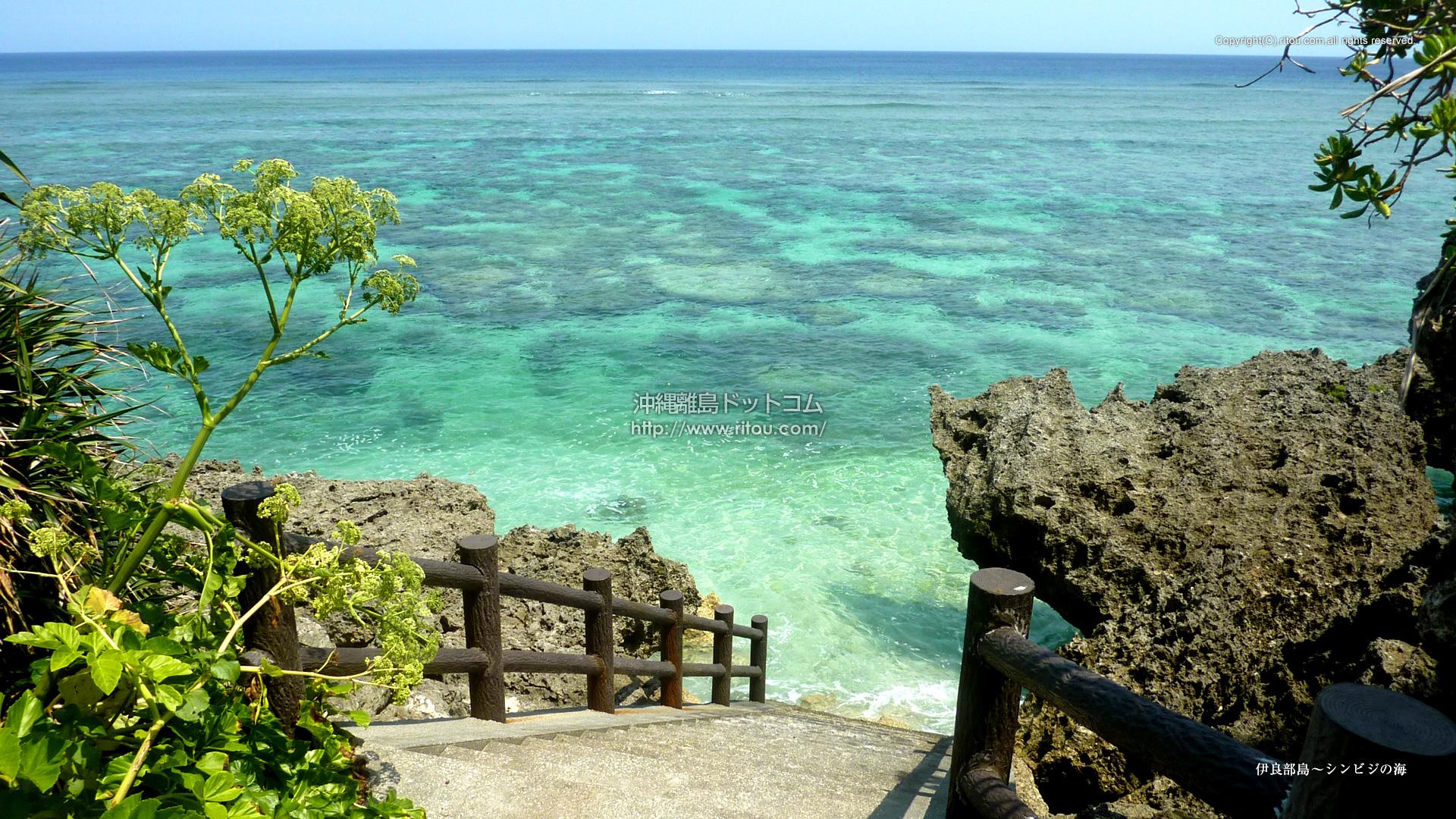 伊良部島〜シンビジの海