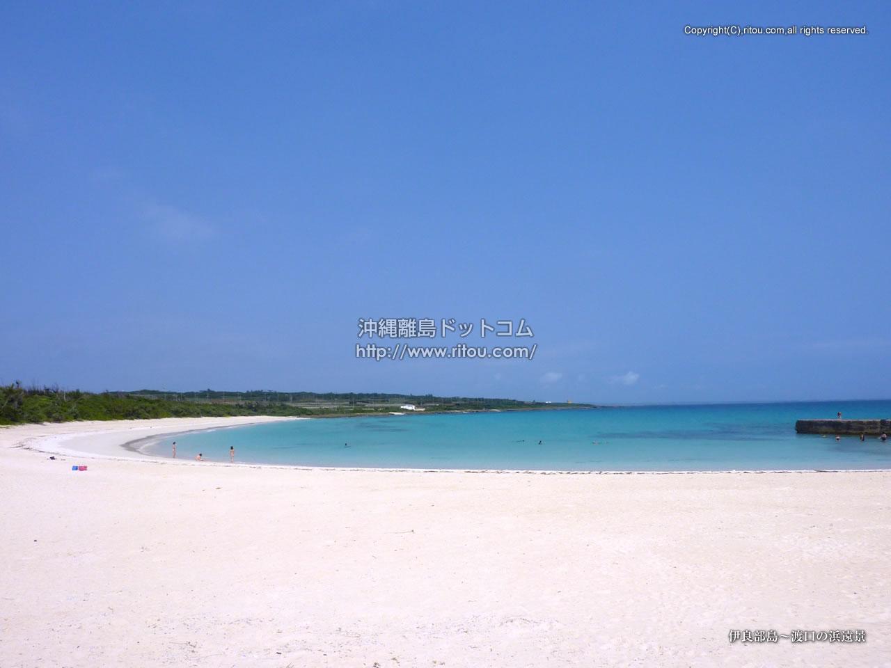 伊良部島〜渡口の浜遠景