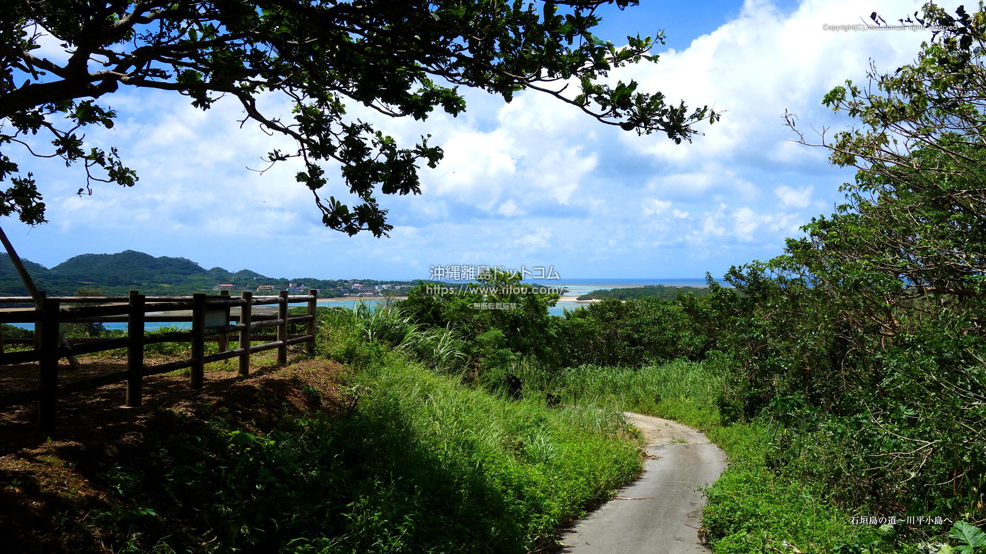 石垣島の道〜川平小島へ