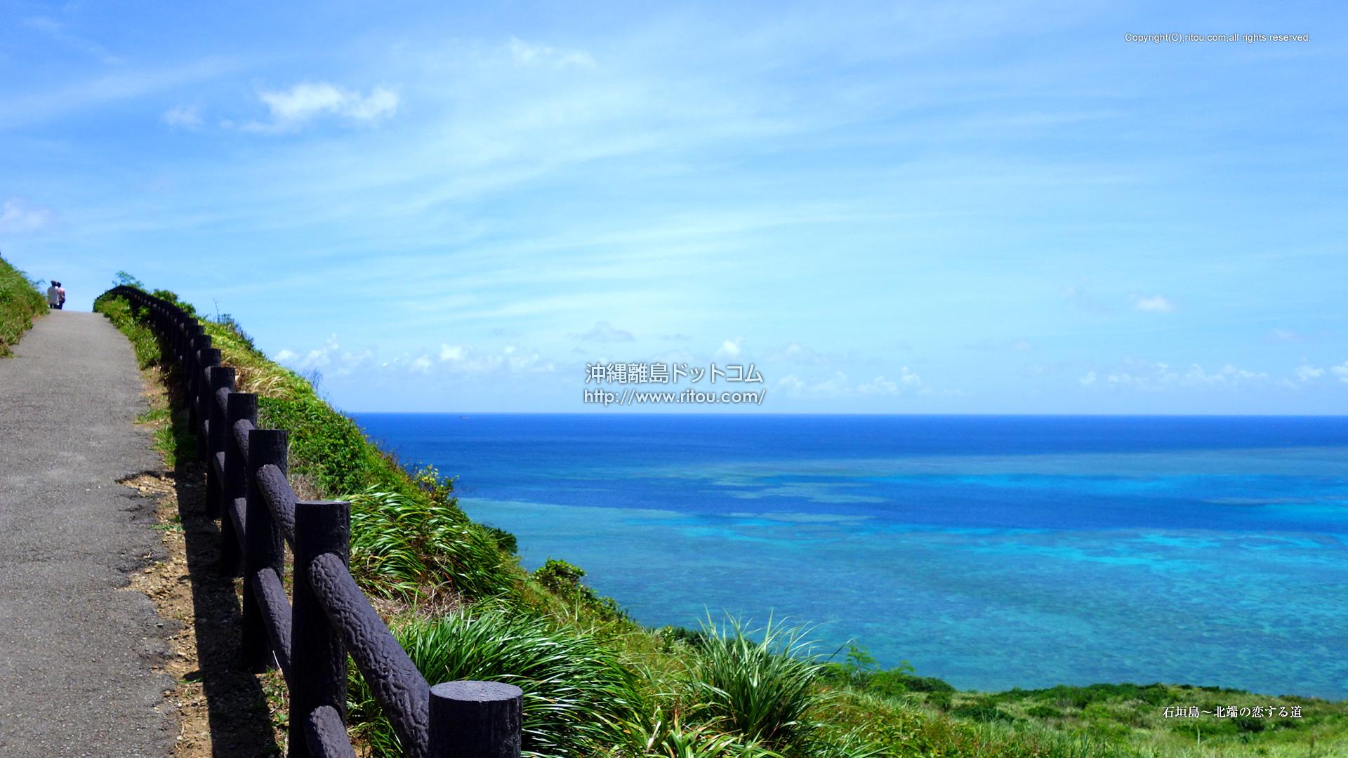 石垣島〜北端の恋する道