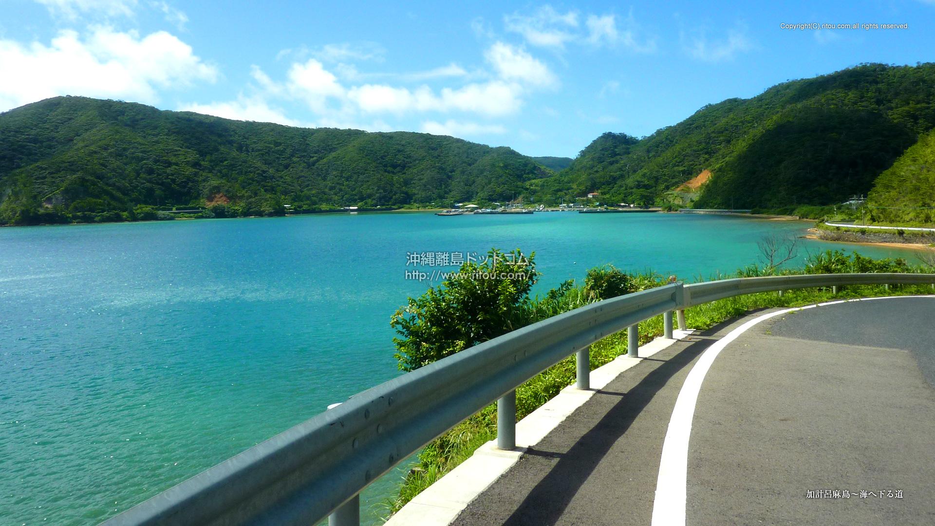 加計呂麻島〜海へ下る道