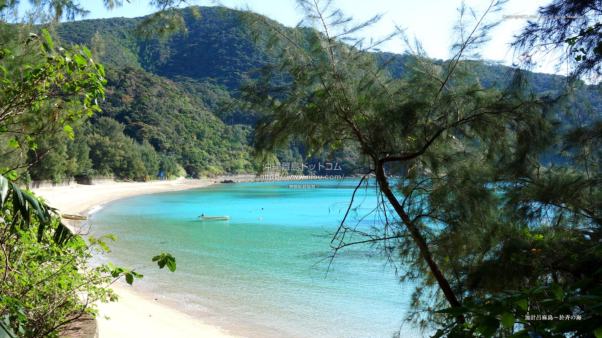 加計呂麻島〜於斉の海