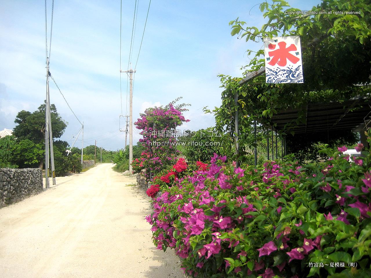 竹富島〜夏模様(町)