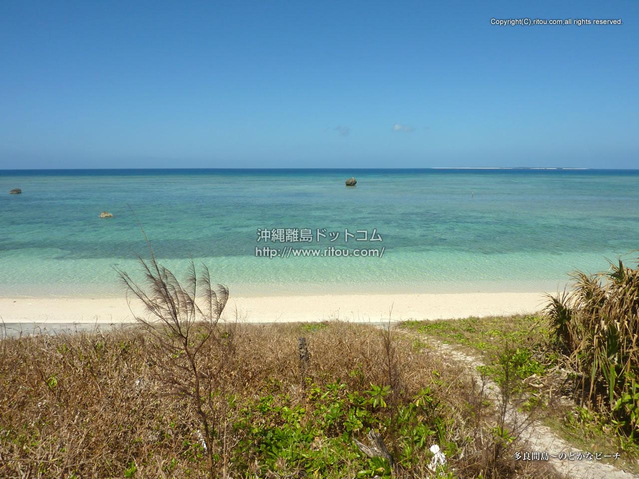 多良間島〜のどかなビーチ