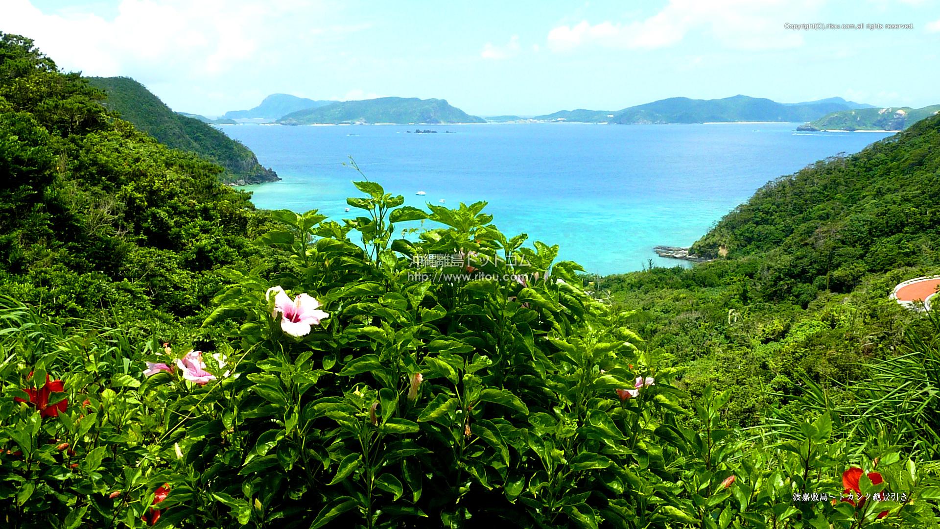 渡嘉敷島〜トカシク絶景引き