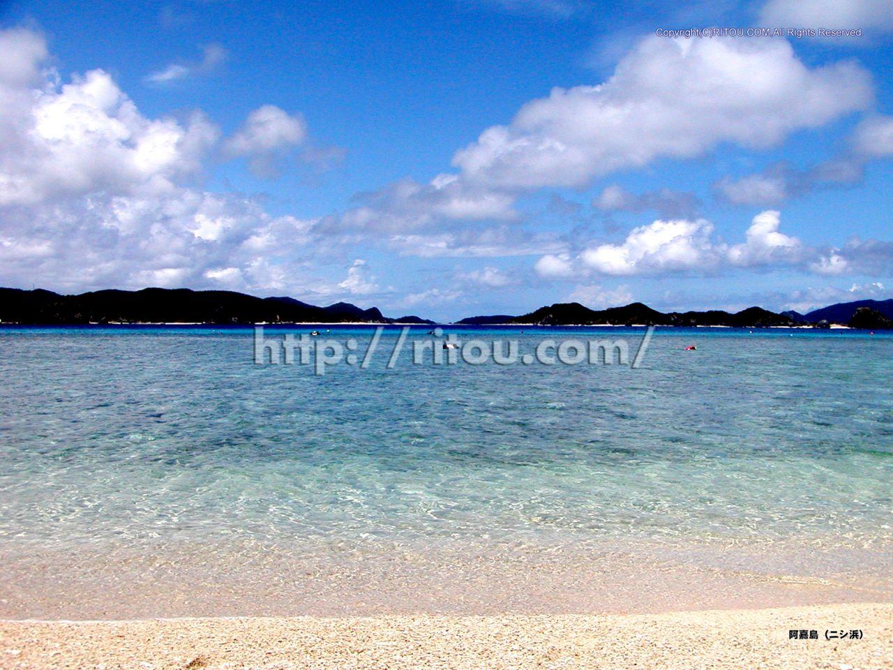 阿嘉島〜ニシ浜
