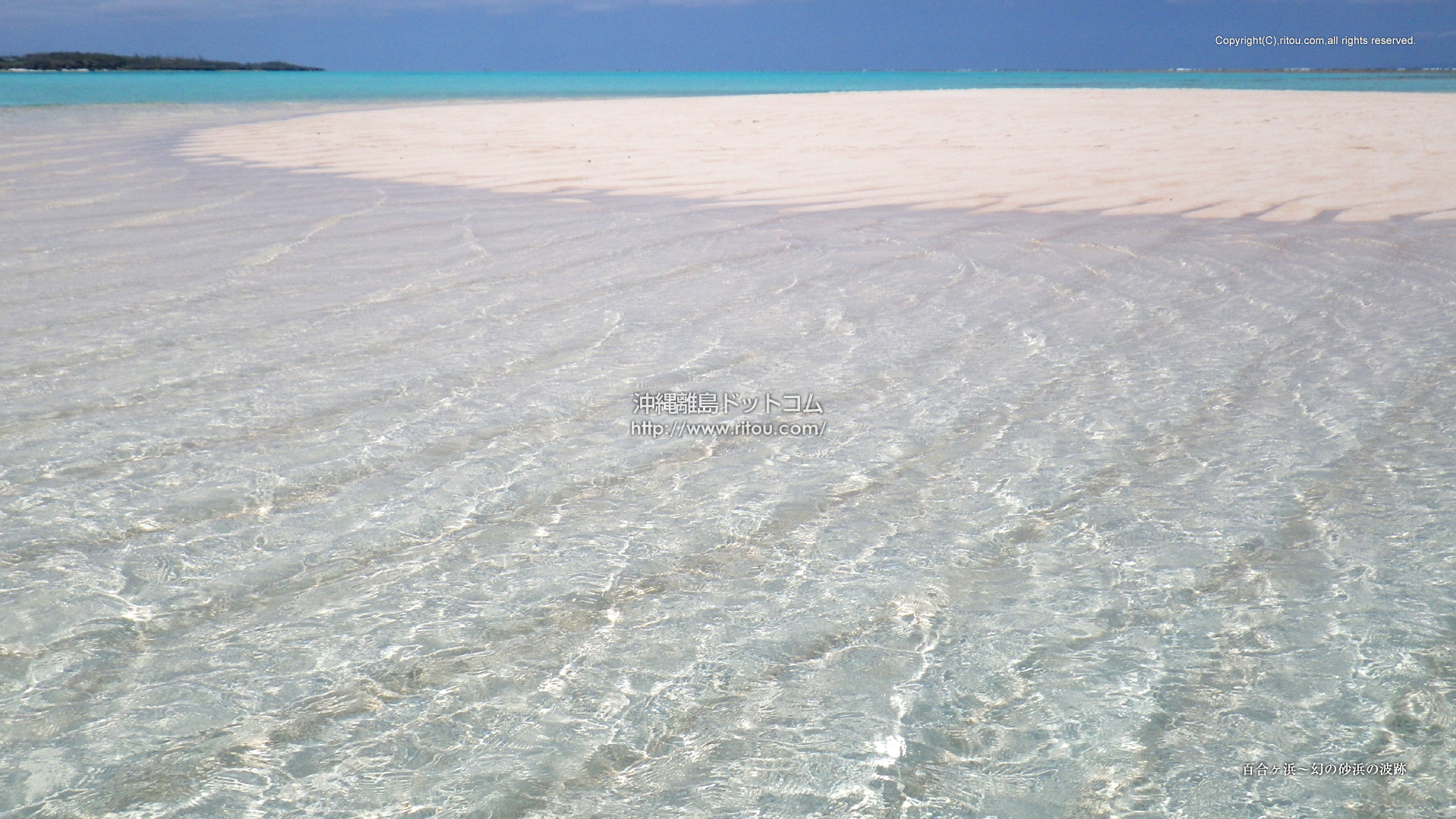 百合ヶ浜〜幻の砂浜の波跡