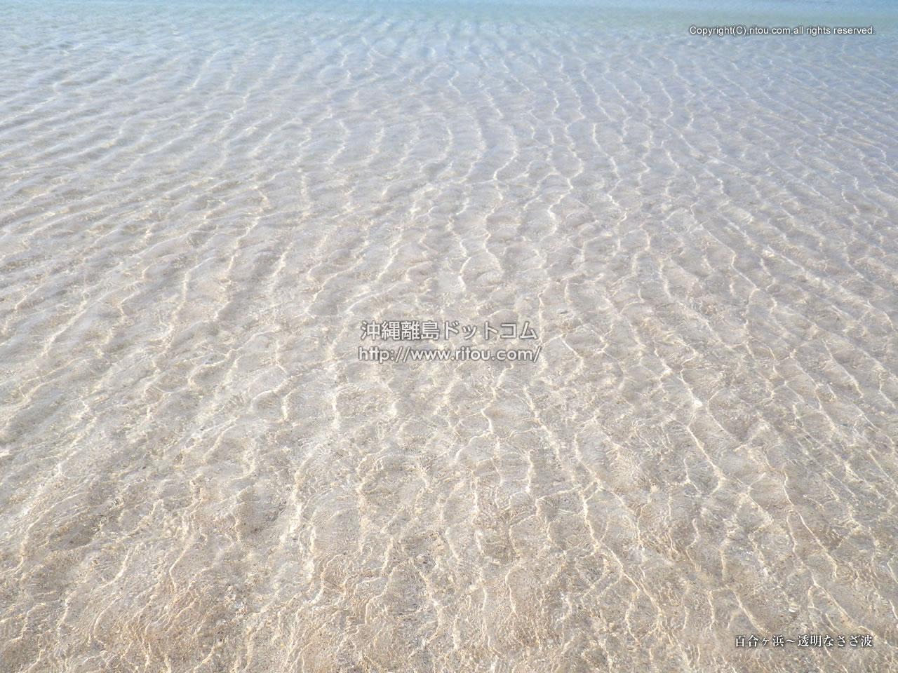 百合ヶ浜〜透明なさざ波