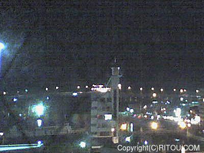2012年11月2日 午後6時時半すぎの泊港ライブカメラ画像
