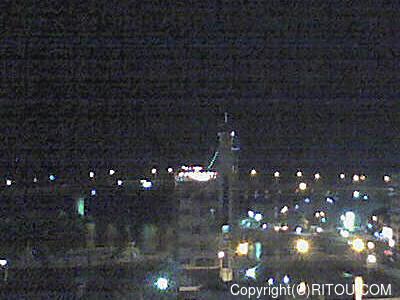 2012年11月3日 午後6時時半すぎの泊港ライブカメラ画像