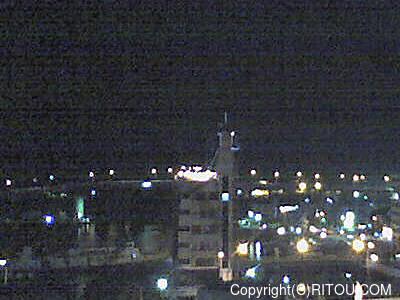 2012年11月10日 午後6時時半すぎの泊港ライブカメラ画像