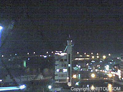 2012年11月14日 午後6時時半すぎの泊港ライブカメラ画像