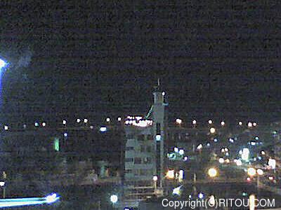 2012年11月18日 午後6時時半すぎの泊港ライブカメラ画像